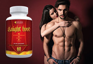 Natural Male Enhancement Pills - 1 Bottle - 60 capsules Extreme Testosterone Booster - Sexual Performance Sex Pill, Libido, Stamina, Horny...
