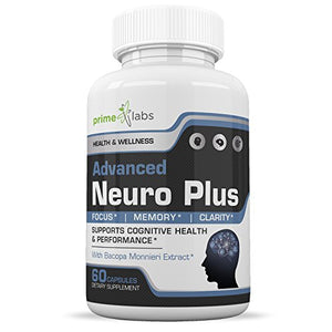 [2 Bottles] Advanced Brain Supplement Support Booster - Memory, Focus and Clarity Formula - Nootropic Pills for Performance,...