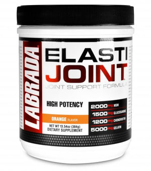 [384 Grams Bottle] Labrada Elastijoint - Joint Support Powder, All In One Drink Mix with Glucosamine Chondroitin, MSM and Collagen,...