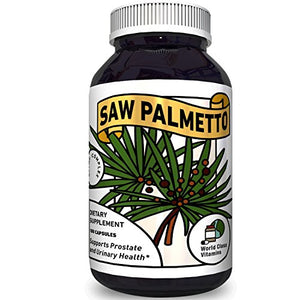 SHIP BY USPS: Pure Saw Palmetto Supplement for Prostate + Urinary Health – Prostate Care Capsules with...