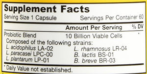 SHIP BY USPS: Jarrow Formulas Dophilus Allergen-Free Capsules, Supports Intestinal Health, 60 Count
