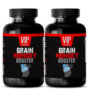 Brain focus and memory supplements - BRAIN MEMORY BOOSTER (POWERFUL FORMULA) - St johns wort vitamins - 2...