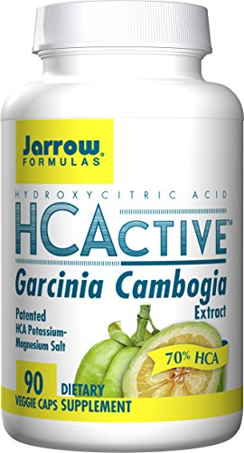 SHIP BY USPS: Jarrow Formulas HCActive Garcinia Cambogia, Supports appetite control and weight management, 90 Veggie Caps