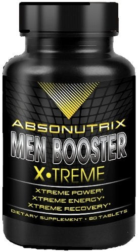 [Pack of 2] ABSONUTRIX MEN BOOSTER XTREME ENERGY RECOVERY VIRILITY STRENGTH PERFORMANCE