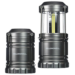 [2 Pack] Bell + Howell Taclight Lantern COB LED, Collapsible As Seen On TV (Pack of 2)
