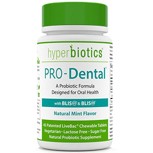 SHIP BY USPS PRO-Dental: Probiotics for Oral & Dental Health - Targets Bad Breath at its Source - Top Oral Probiotic Strains...