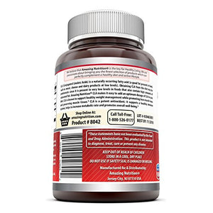 SHIP BY USPS: Amazing Nutrition Amazing Formulas CLA Dietary Supplement - 1250 mg - 120 Softgels - Promotes Metabolism...