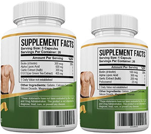 SHIP BY USPS Ultimate PAGG Stack Formula - Blend of 8 Potent Dietary Supplements – Helps to Build Muscle and...