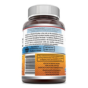 Amazing Nutrition Amazing Formulas Riboflavin Dietary Supplement - 400 Milligrams - 120 Capsules -...