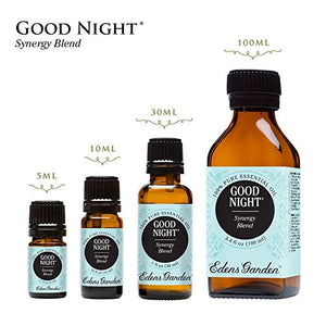 SHIP BY USPS Good Night Synergy Blend Essential Oil by Edens Garden- 5 ml