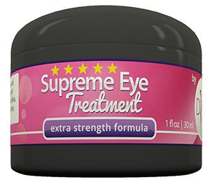 Supreme Eye Treatment Cream by DIVA Fit & Sexy - All-Natural Formula Made with Organic Aloe Gel to Remove...