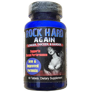 RH Again - 60 Tablets -  #1 Sex PILL for STRONGER, HARDER, LONGER LIBIDO & POWERFUL SEX, Sexual Performance Libido Sex,...