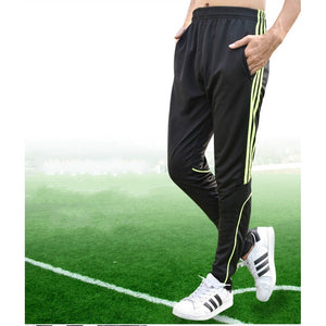 Straight Tube Sports Pants Big Yards Men's Football Training Fitness Running Pants Speed Dry Breathable Outdoor Leisure Clothes