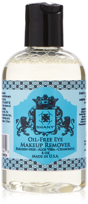 SHANY Indelible Oil Free Eye Makeup Remover Lotion, 4 Fluid Ounce