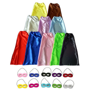 Children Dress up Party Capes pack of 10