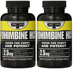 Primaforce Supplement, Yohimbine Capsules- Weight Loss Supplement, Improve Cognitive Performance, Sexual Enhancement- 90 Count