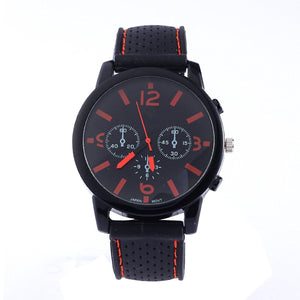 8 Assorted Wholesale Men's Sports Silicon Watch Wrist Watches Riding Running