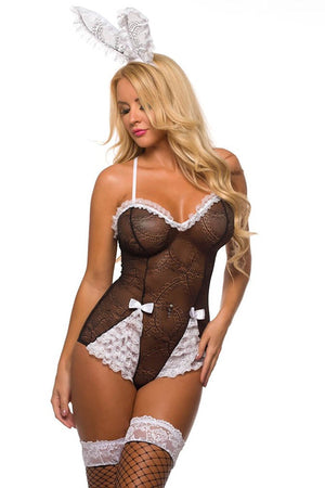 Kitten Sexy Bunny Beauty Costume for Women 9917