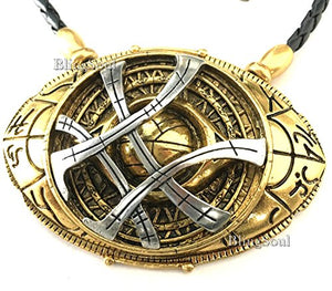 SHIP BY USPS: Doctor Strange Amulet Eye Of Agamotto Necklace. Ideal Gift Idea