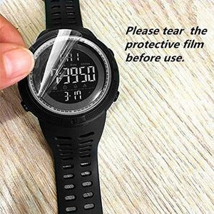 Men's Digital Military Sport Watch Outdoor Casual Dual Time Display Wrist Watch