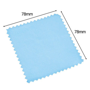 50 Pack Jewelry Cleaning Cloth Polishing Cloth for Sterling Silver Gold Platinum