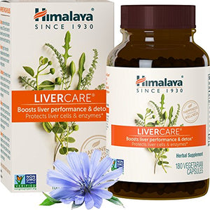 SHIP BY USPS: Himalaya LiverCare/Liv. 52  for Liver Cleanse and Liver Detox 375 mg, 180 Capsules, 90 Day Supply
