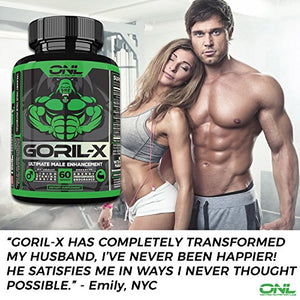 SHIP BY USPS GORIL-X - Ultimate 6-IN-1 Male Enhancement (60 Capsules) Increase Size, Libido, Performance, Hardness, and more!...