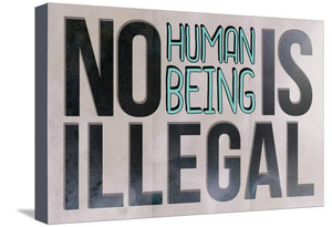 No Human Stretched Canvas Print 13 x 19 in