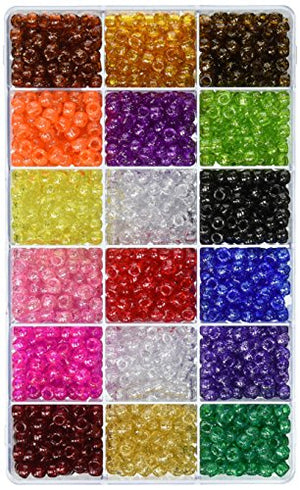 Giant Crayon Bead Box - approximately 2300 beads