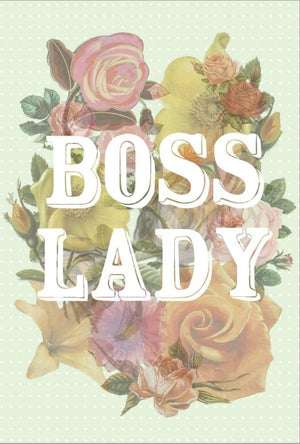 Boss Lady Stretched Canvas Print 19 x 13 in