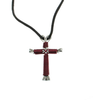 Intercession™ Horseshoe Nail Cross Necklace - Made in USA
