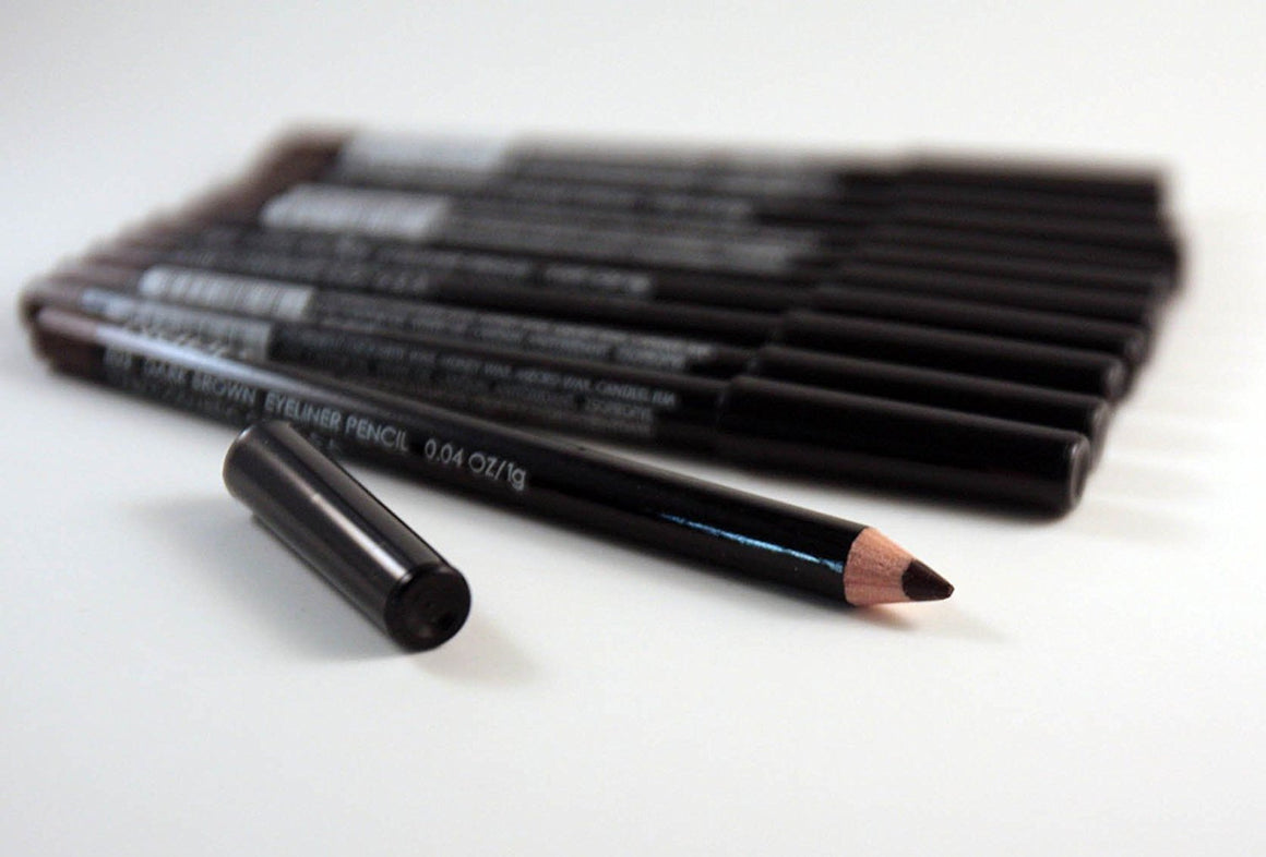 12pcs Nabi Dark Brown Eyeliner Pencil (Wholesale Lot)