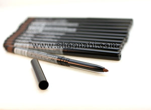 12pcs Nabi Retractable Waterproof Brown Eyeliner (Wholesale Lot)