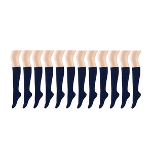 12 Pairs Women Knee High Socks