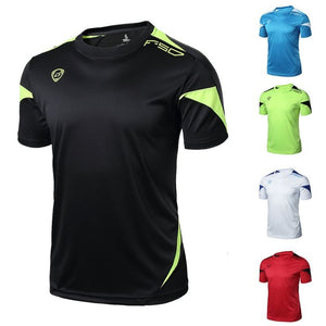 Men Casual Sport T-Shirt Fitness Gym Quick Dry Stretch Top Tee Blouse M/L/XL/2XL