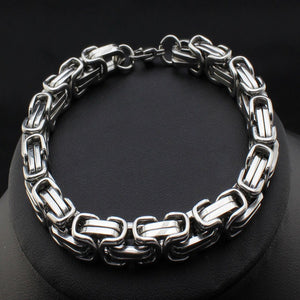 New Fashion Trendy Stainless Steel Necklace Bangle Jewelry Cool Chain