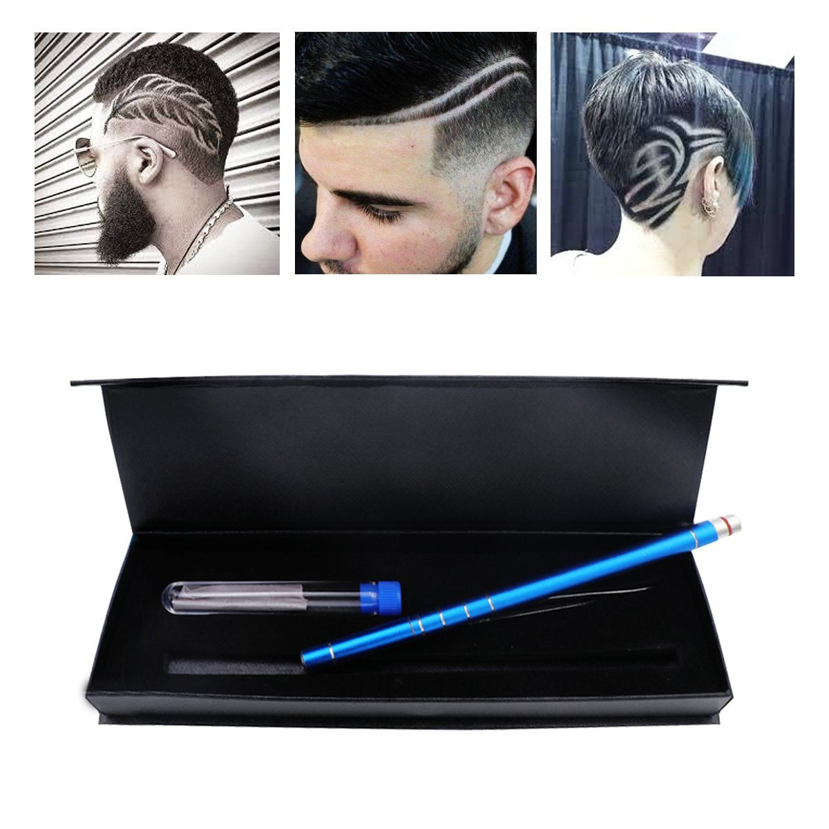 Hair Tattoo Trim Styling Face Eyebrow Shaping Device Ociga Engraved