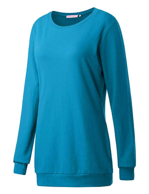 Regna X Long Sleeve Loose Casual Pullover Cute Sweatshirts for Women (S-3x, we Have Plus Sizes)