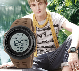 Men LED Digital Military Watch Fashion Sports Watches Dive Swim Outdoor Casual Wristwatches For Men