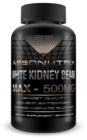 [Pack of 2] Absonutrix White Kidney Bean Extract Max Phaseolus Vulgaris PE 10:1 500mg carbohydrate blocker slimming fat burn...