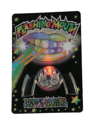 Flashing LED Mouthpiece. 24 Pieces in Original Factory Packaging by Whoa...Stuff!!