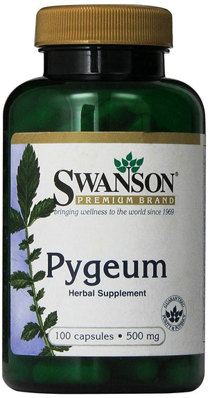 [Pack of 2] Swanson Pygeum 500 mg 100 Capsules Each