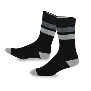 TeeHee Men's Fun and Fashion Cotton Crew Socks 5-Pack