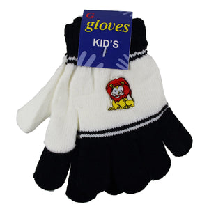 Gelante Toddler / Children Winter Knitted Magic Gloves Wholesale Lot 12 Pairs