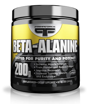[Pack of 2 x 200 Grams] Primaforce Supplement, Beta Alanine Powder- Improve Muscular Endurance, Improve High Intensity Capacity- 200 Grams