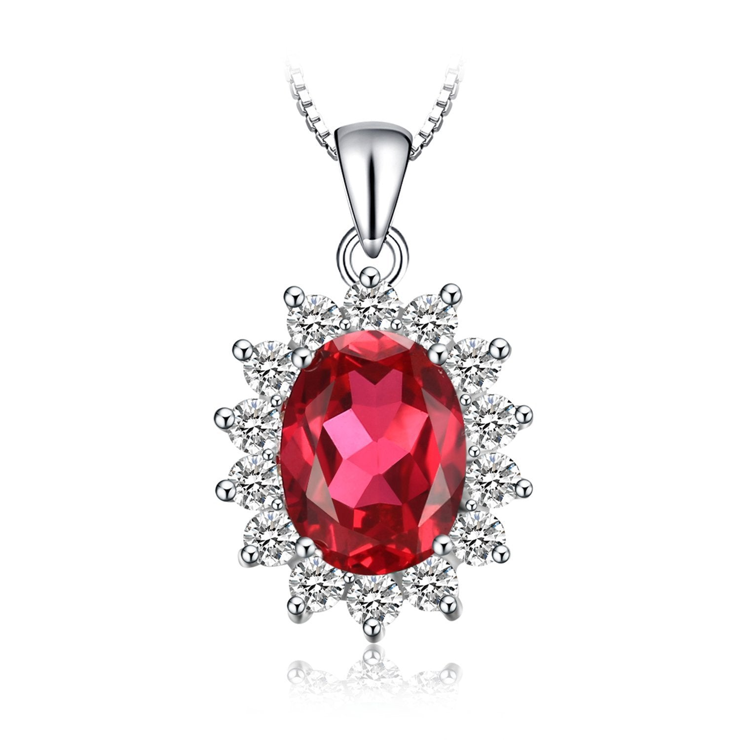 43d8340978 ... Jewelry palace Princess Diana Created Alexandrite Sapphire Created Ruby  Nano Russian Simulated Emerald 925 Sterling Silver ...