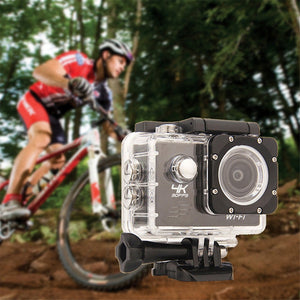 Ultra 4K WiFi 2 Inch Version  SJ8000R 1080P Full HD Sport DV Action Camera 170° Wide Angle Waterproof with Remote Control(Color: