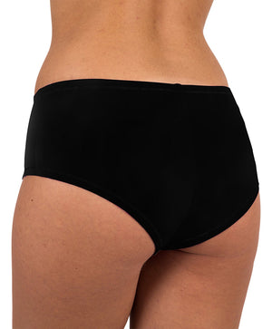 Sexy Women's 12 Pack Cotton Spandex Active Boy Shorts Color Briefs