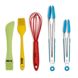 10-Piece Silicone Kitchen Utensils Cooking Tool Set