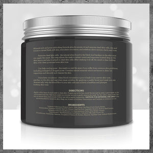 [Pack of 2 Jars x 8.8 fl oz] Pure Body Naturals Dead Sea Mud Mask, 8.8-ounce